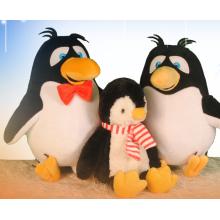 Счастливые пингвины семейные плюшевые игрушки