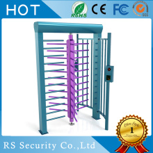 Stasiun Subway Perkeretaapian TCP / IP Full Height Turnstile