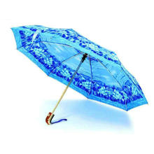 Printing Squre Case Auto Open &Close Umbrellas (YS-3FD22083001R)