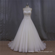 Wedding Dress White Strapless