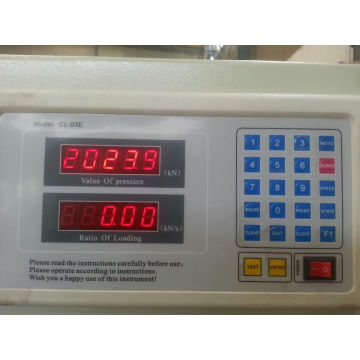 3000kn Digital Display Mampatan Mesin Ujian Mampatan
