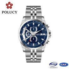 Chine Movt mécanique luxe montre haut de gamme en acier inoxydable étanche prénatale Watch