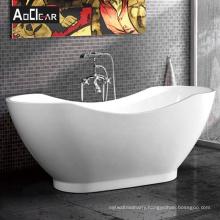Aokeliya  acrylic japanese modern  white freestanding soaking bath tub