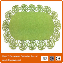 Nonwoven Fabric Laser Cutting Placemat