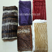 100% Polyester PV Pile Blanket Fleece Blanket with Differnt Printings