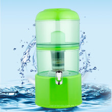 Olla de agua mineral verde 20L