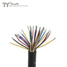 20 22 24 26 28 30 awg multi core silicone cable custom high temperature