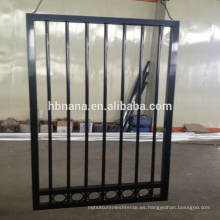 Barandilla de aluminio al aire libre de la escalera del hierro labrado