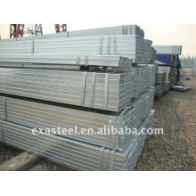 Pre Galvanized Rectangular /Gal Square Welded Steel Pipe