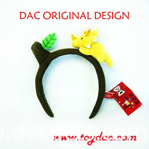 own design dinosaur hairband
