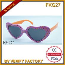 Einfache Liebe Form Sonnenbrillen für Kinder (FKG27)