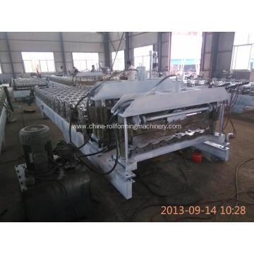 Fast Speed  glazed tile roll forming machine