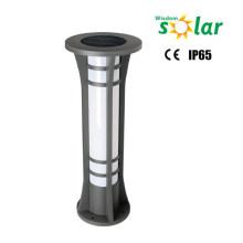 Popular bolardo solar de CE luz luz solar iluminación de jardín al aire libre (JR-2713)