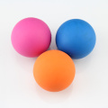 Colorful Lacrosse Ball With Logo Engraved