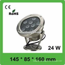 Qualität CE und ROHS AC12V-24V IP68 Pool Tischleuchte, 3 Jahre Garantie