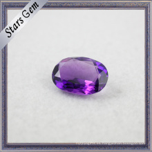 Piedra de amatista semi preciosa natural para joyería de moda