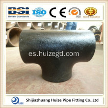 Tubería de acero Tee-3 Way Pipe Fitting