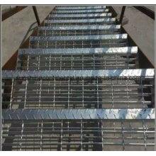 Industrielle Plattform Boden geschweißt verzinkt Treppe Stahl Gitter