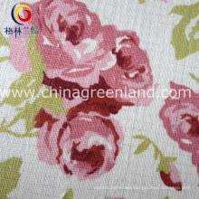 Cotton Linen Printing Flower Fabric for Shirt Dress (GLLML128)