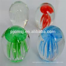 Дешевые хрустальный шар с Медузами внутри для праздничных подарков или сувениров
