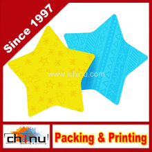Almofada pegajosa, 2,9 X 2,8 polegadas, forma de estrela (440062)