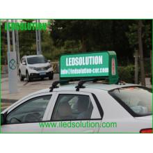 Affichage à LED de signe de toit de taxi de P5mm