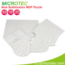 Sublimation Custom Puzzle Rectangle Shape
