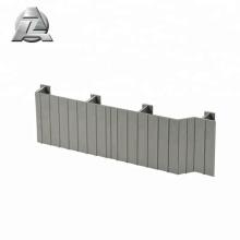 prix local Decking en aluminium non inflammable de jardin