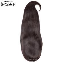 Gran efecto de desgaste recto indio armadura sin procesar cutícula Remy pelucas de cabello humano frontal completo fábrica de encaje proveedor