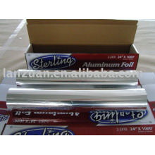 household foil for fast food wrap,bake,