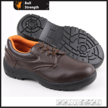 Industrial Leather Safety Shoes with Steel Toe and Steel Midsole (SN5257)