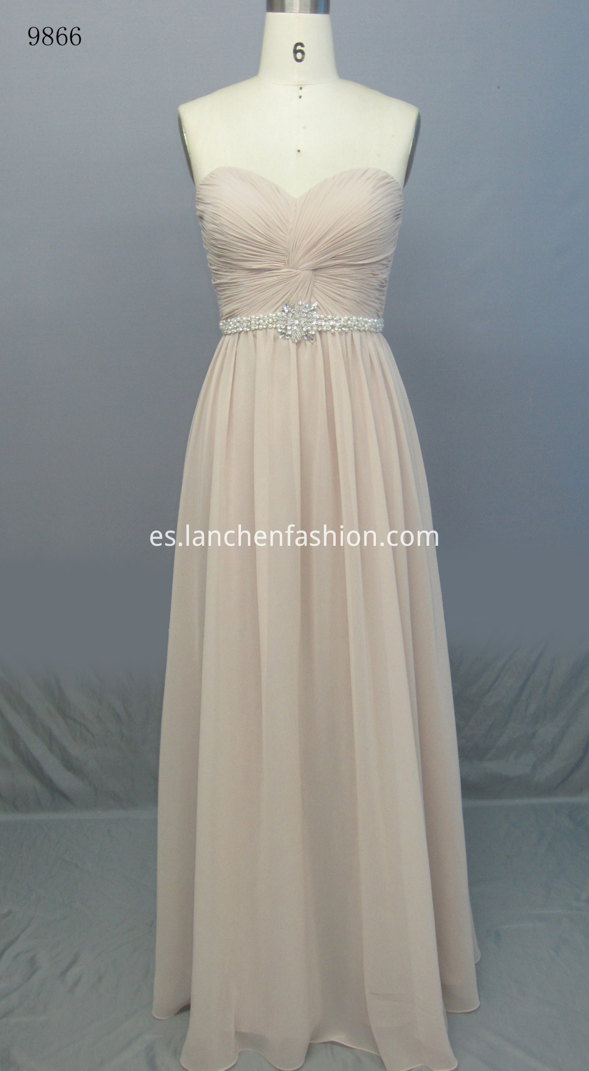 Elegant Bridemaid Maxi Dress