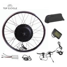 TOP diy complet étanche kit de moteur électrique de vélo de câble avec batterie