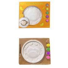 Niños DIY colorear yeso de juguete