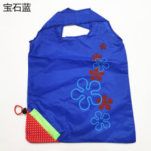 Faltbare wiederverwendbare Einkaufstasche aus Erdbeer-Nylon