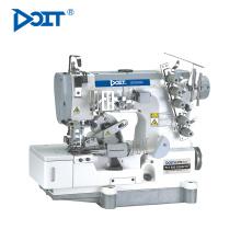 Máquina de costura de bloqueio DT500-02BB para fita adesiva em t-shirt