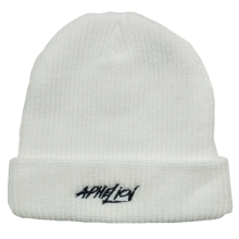 2019 new fashion acrylic custom embroidery logo knitted hat