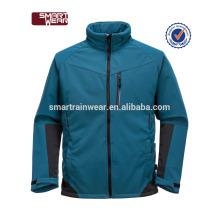 Fábrica de alta qualidade Softshell Fleece Jacket Outdoor impermeável