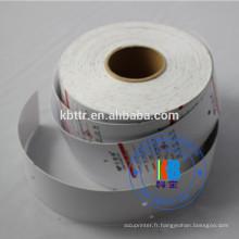 personnalisé en plastique blanc papier d'impression vêtements vêtement carton étiquette étiquettes volantes