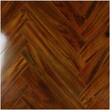 Household 12.3mm Mirror Maple Sound Absorbing Laminated Floor