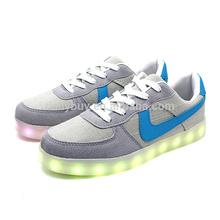 Youth fashion Unisex USB Charging LED Lights Shoes comfortable casual glow shoes
