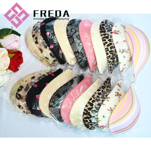Floral Adhesive Paddedd Strapless Bra For Backless Dress