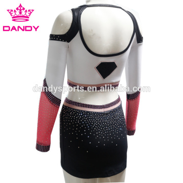 Áo crop top Backless Cheerleader Girls