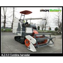 Máquina agrícola cosechadora de arroz con aire acondicionado