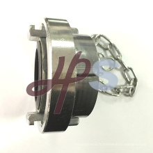 embout scellé en aluminium ou en laiton avec chaîne