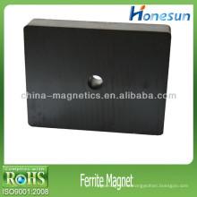 3 класс ферритовый магнит блок с круглым отверстием