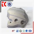 sandblasted sliver custom made cylinder cover die casting