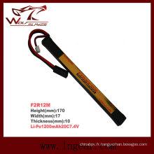 Firefox 7, 4V 1200mAh batterie de forme Li-polymère T Lipo LiPo 20C
