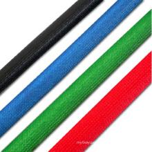 Colorful Halogen Free Silicone Fiberglass Tube Fiber Glass Braided Sleeve
