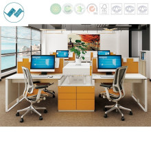 Professional Cubicle Open Wooden Office Cubical Workstation (easy-s-01-1X4)